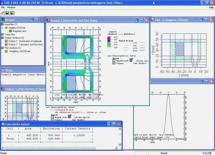 EOD user interface